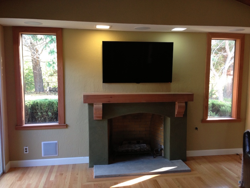 chimney mantels custom home interiors inc